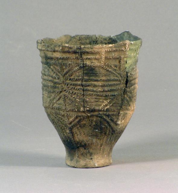Kohoku-type deep-pot earthenware