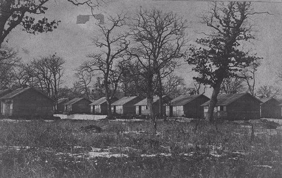 Group of ex-legionary barracks