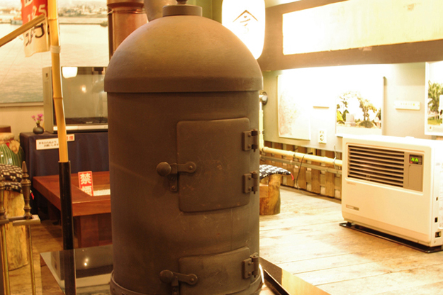 Replica of Japan's first stove