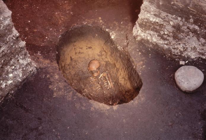 Kitakogane Shell Midden: Grave of the early Jomon period