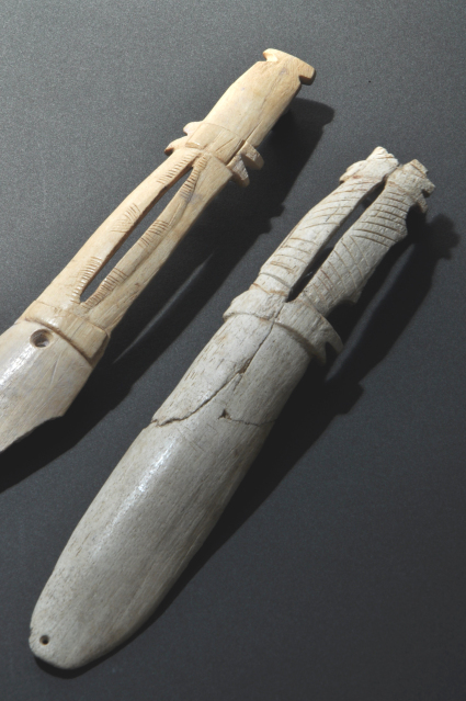 Kitakogane Shell Midden: Spoon-shaped ritual tools