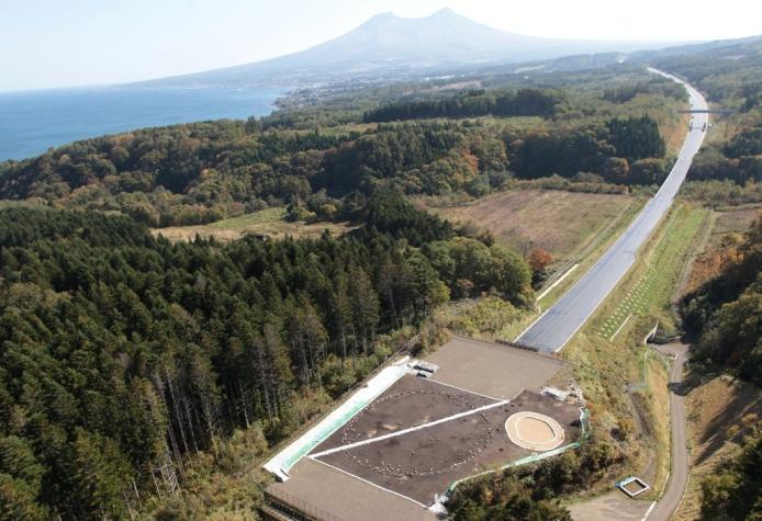 Washinoki Site: Full view of Washinoki Site