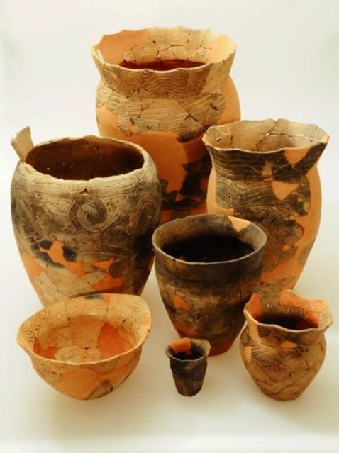 Washinoki Site: Artifacts excavated from the Washinoki Site 1