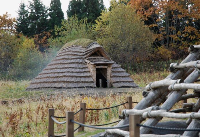 Ofune Site: Restored dwelling