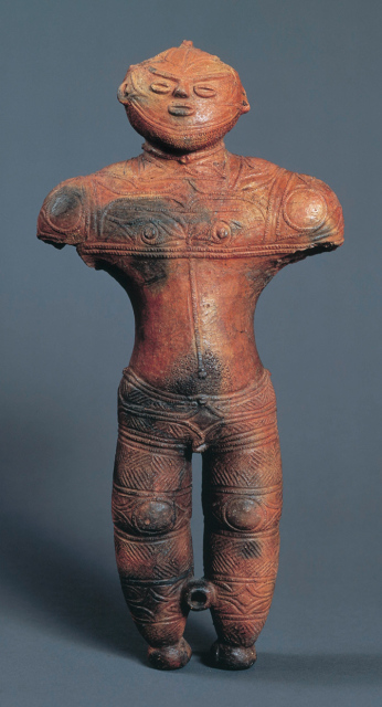 Chobonaino Site: Hollow clay figurine (National Treasure)