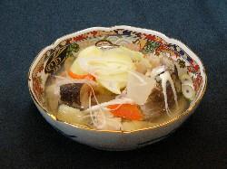 野菜と魚の旨みが溶け合った三平汁
