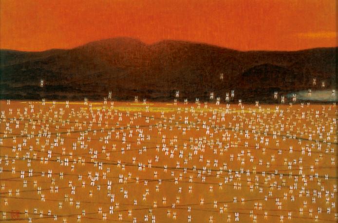 岩橋英遠「秋韻」(1987年)
