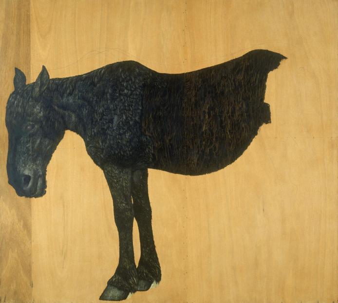 神田日勝「馬(絶筆)」(1970年)
