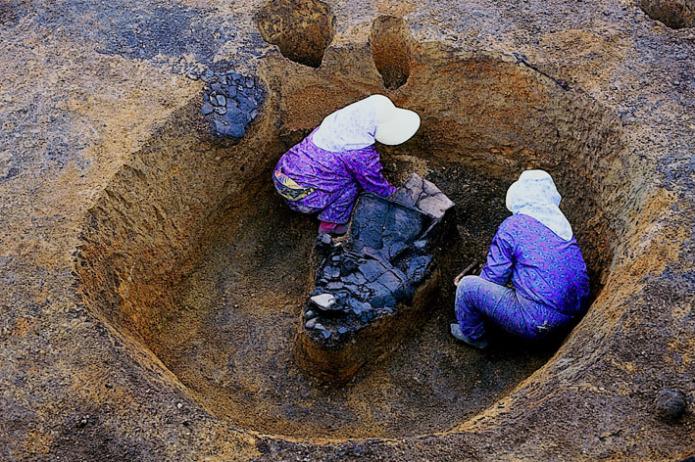 大船遺跡:遺跡土坑墓