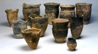大船遺跡などから出土した土器