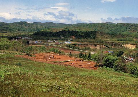 ピリカ遺跡:調査の様子①
