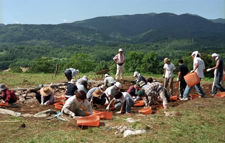 ピリカ遺跡:調査の様子②