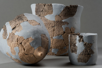 大正3遺跡から出土した北海道最古の土器
