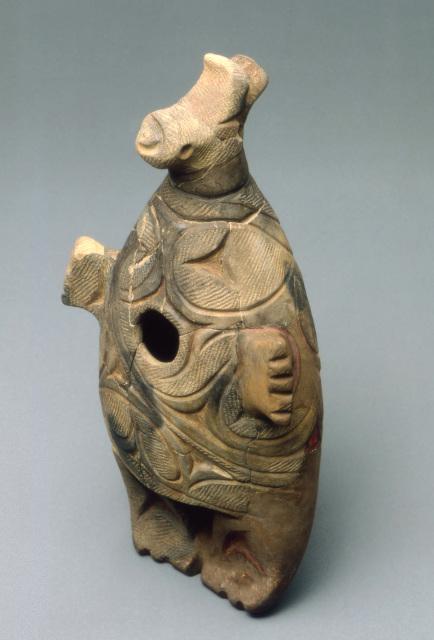 千歳美々4遺跡:動物型土製品