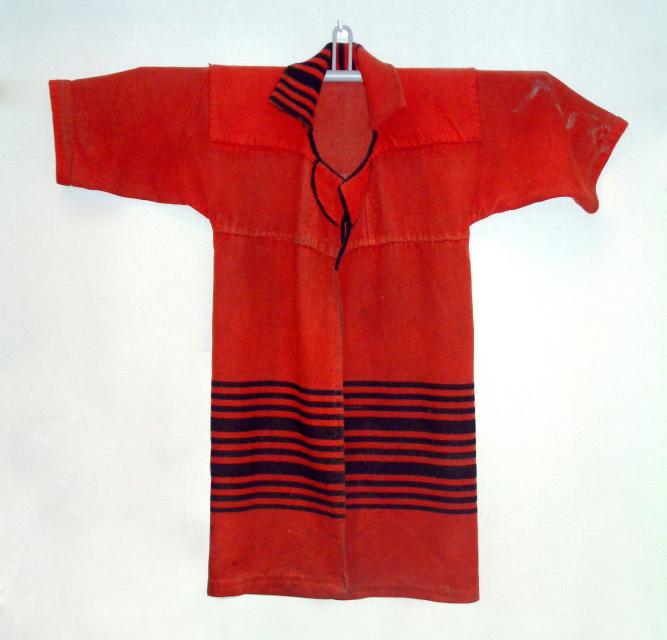 赤ゲットで作った外套